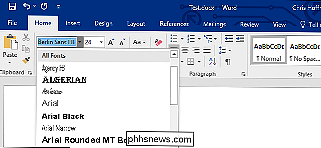 Lettertypen insluiten in een Microsoft Word-document