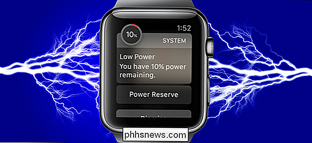 Hoe Power Reserve op Apple Watch in en uit te schakelen Watch