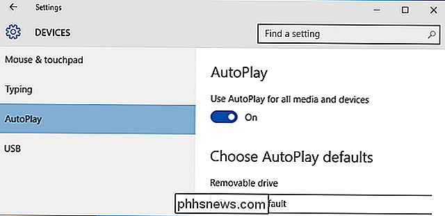 Come abilitare, disabilitare e personalizzare AutoPlay in Windows 10