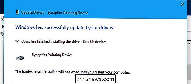 Cómo habilitar los controladores Precision Touchpad de