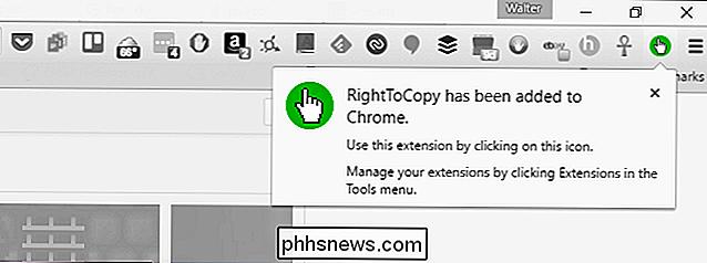 1b8526e14 Ativar clique com botão direito e copiar em todos os sites com uma extensão  de navegador