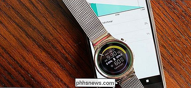 Come scoprire cosa sta usando la batteria di Android Wear Watch