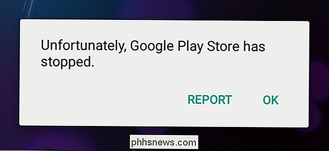 Comment réparer le Google Play Store quand il force constamment