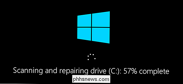Harddiskproblemen met Chkdsk repareren in Windows 7, 8 en 10