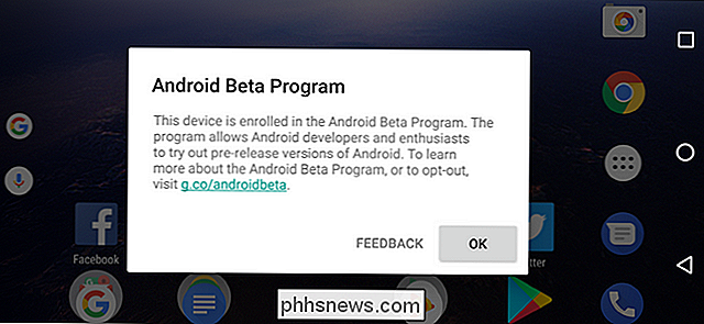 Android O Beta downloaden op uw Pixel- of Nexus-apparaat