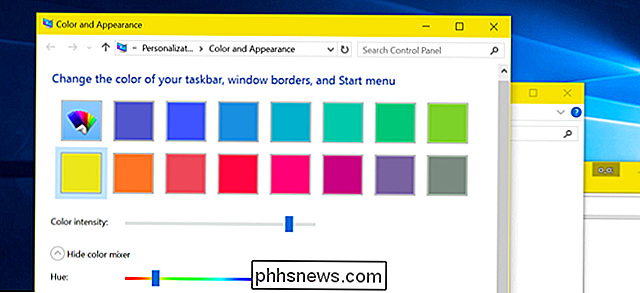 Cómo obtener barras de título de ventana coloreadas en Windows 10 (en lugar de blanco)