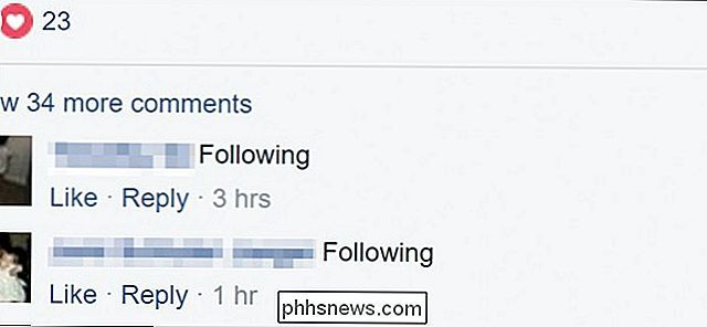 Comment obtenir des notifications pour n'importe quel post Facebook sans le commenter