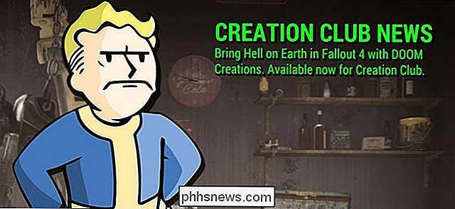 "Como esconder o ""Creation Club News"" Spam no Fallout 4"