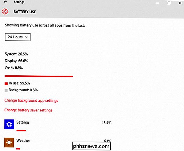 Cómo mejorar la duración de la batería con la nueva configuración de ...