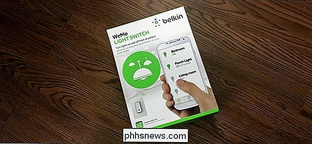 Comment installer et configurer le commutateur Belkin WeMo Light