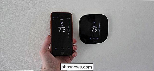 So installieren und konfigurieren Sie das Ecobee Smart Thermostat ...