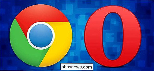 Como instalar extensões do Chrome no Opera (e no Opera Extensions no Chrome)