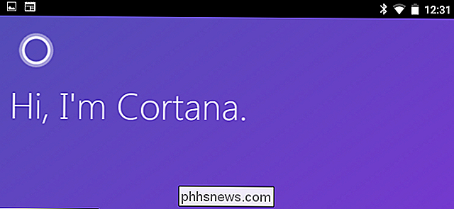 Come rendere Cortana come assistente predefinito su Android