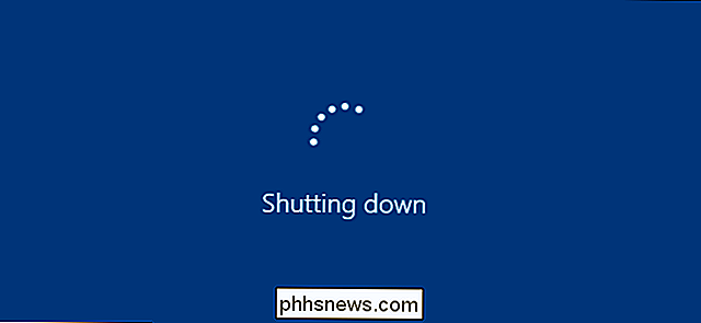 Så här gör du Windows Shut Down Snabbare