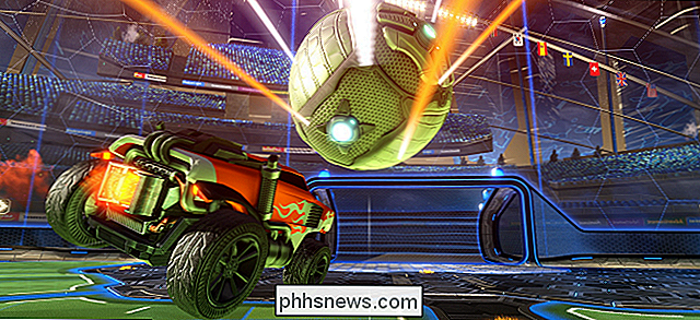 Wie man Antennen in Rocket League mastered