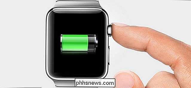 Slik sparer du batterilevetiden på Apple Watch