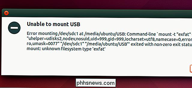 Comment monter et utiliser un lecteur exFAT sous Linux
