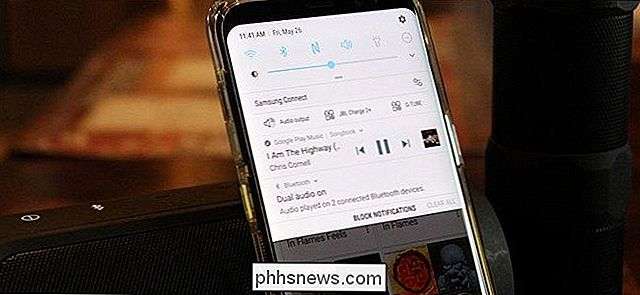 Come riprodurre l'audio Bluetooth su due altoparlanti contemporaneamente con il Galaxy S8