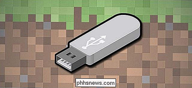 Come giocare a Minecraft da una Flash Drive per Block Building Fun Anywhere