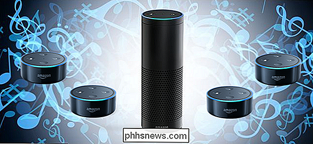 Come riprodurre musica su più altoparlanti Amazon Echo (come un Sonos)