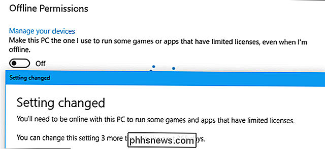 Comment jouer à Windows 10 Store Games Offline