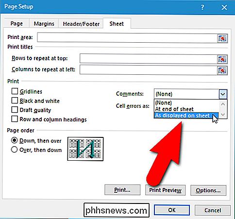 So drucken Sie ein Arbeitsblatt mit Kommentaren in Excel - de ...