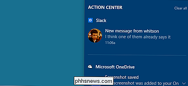 Comment hiérarchiser les notifications dans le Centre d'Action de Windows 10