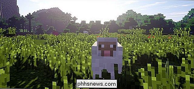Come pompare Minecraft Eyecandy con Shader