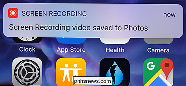 Come registrare un video dello schermo dell'iPhone o dell'iPad
