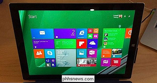 Comment recharger Windows 8.1 sur votre tablette Pro