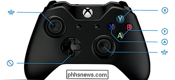 Slik fjerner du en Xbox One Controller-knappene i Windows 10