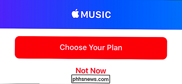 Come rimuovere Apple Music dalla Music App di iPhone