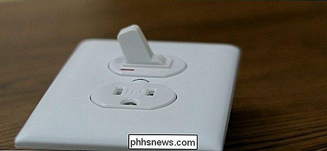 So ersetzen Sie einen Lichtschalter durch einen Schalter / Steckdose ...