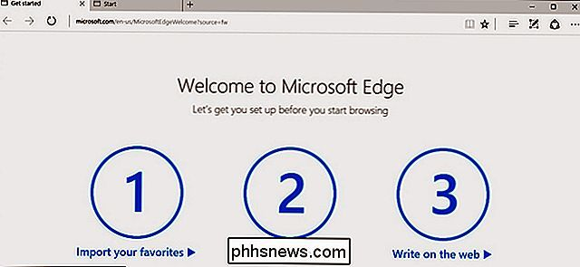 Slik gjenoppretter du Microsoft Edge i Windows 10