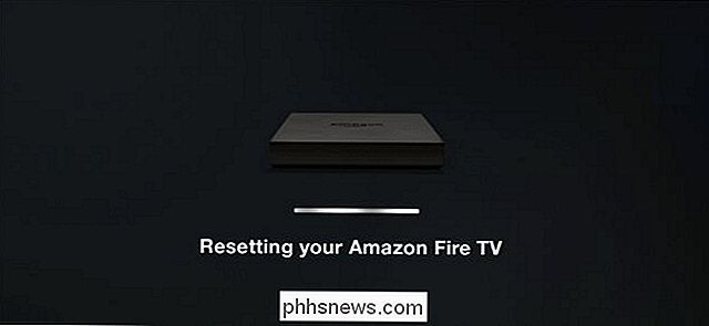 Cómo reiniciar su Amazon Fire TV