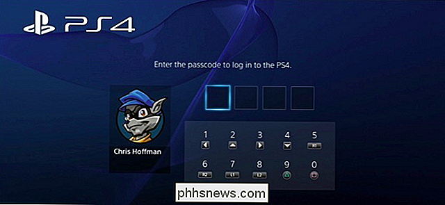 Come limitare l'accesso a PlayStation 4 con un passcode