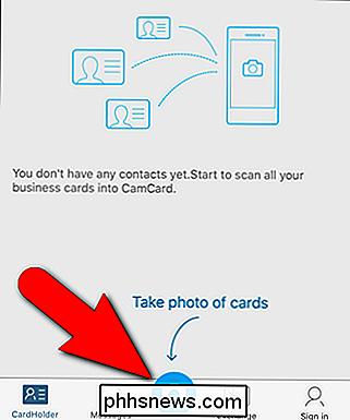 So Scannen Sie Visitenkarten In Die Kontaktliste Ihres