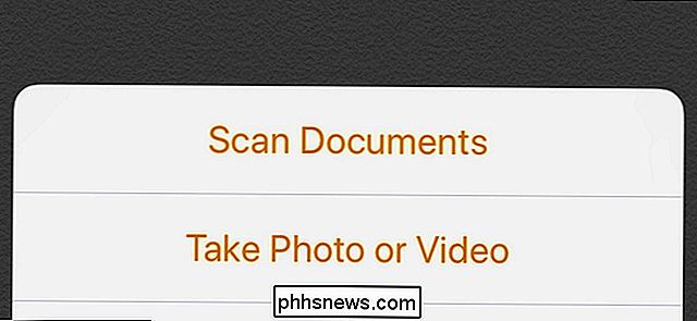 Come eseguire la scansione dei documenti con l'app Notes dell'iPhone