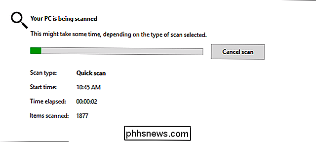 So planen Sie einen Scan in Windows Defender