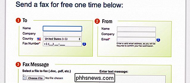 cómo enviar y recibir faxes en línea sin fax o línea telefónica es