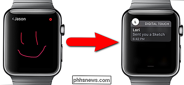 Slik sender du en digital berøringsmelding med Apple Watch
