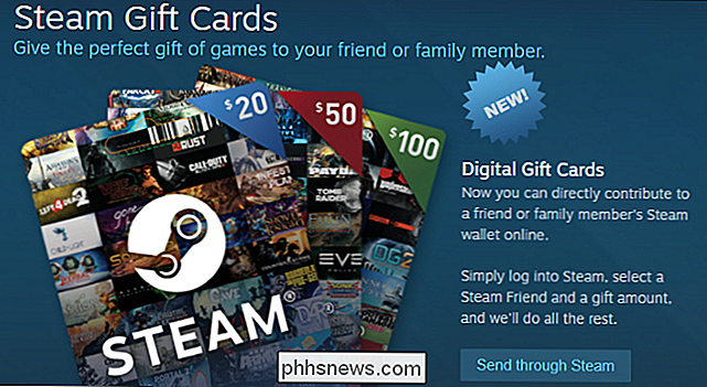Come inviare una carta regalo digitale Steam in qualsiasi importo