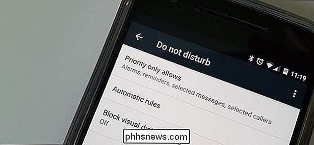 Slik stiller du automatiske stille tider i Android med Do No Disturb
