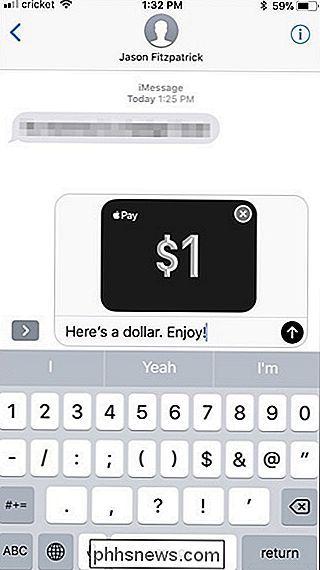 Cómo configurar y usar Apple Pay Cash en su iPhone - es