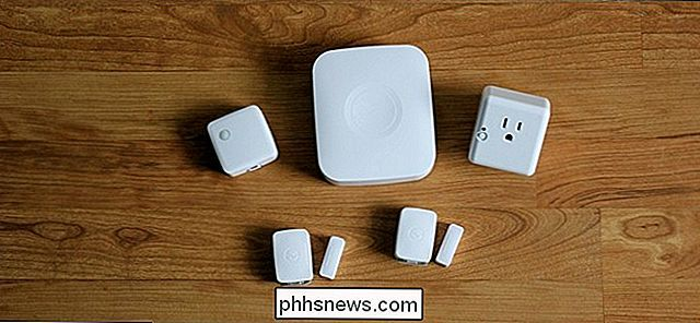 So richten Sie das SmartThings Home Monitoring Kit ein