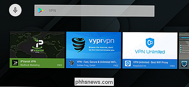 Så här konfigurerar du en VPN på Android TV