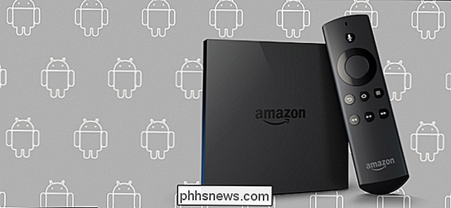 Android-apps sideloaden op uw Amazon Fire TV en Fire TV Stick