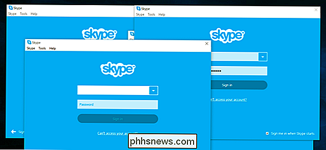 Come accedere a due o più account Skype contemporaneamente