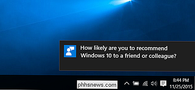 Come impedire a Windows 10 di chiederti il ​​feedback