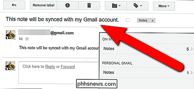 Come sincronizzare le note di iOS 9 con il tuo account Gmail